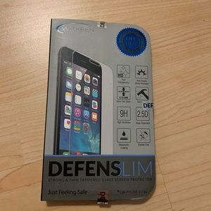 Denfensilm iPhone 6/6S glass screen protector